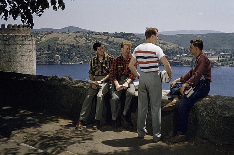 Boğaziçi üniversitesi öğrencileri, 1960