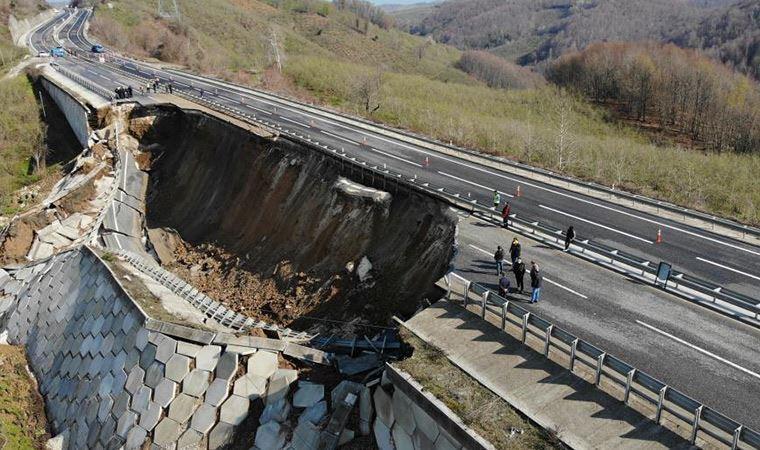 Zonguldak yolu tutucu dyvar felaketi